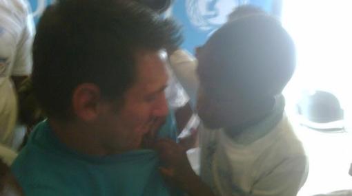 'Pulga' de buen corazón: Lionel Messi visitó Haití como embajador de la Unicef