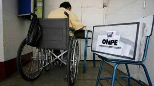 Comenz el empadronamiento de discapacitados para las for Oficina empadronamiento