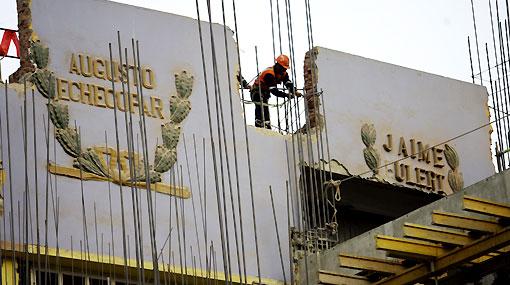 FOTOS: Vea cómo se realiza la remodelación del Estadio Nacional