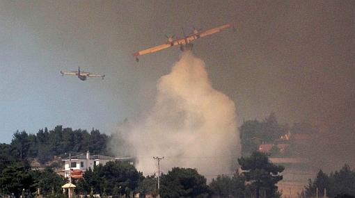 Incendios en Grecia son imparables pese a esfuerzos para aplacarlos