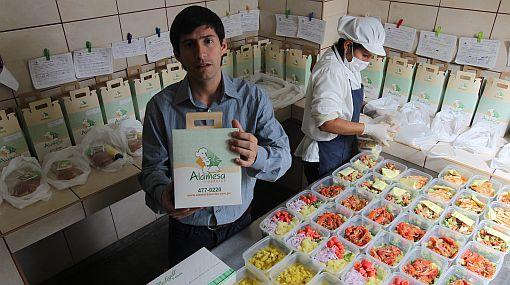 Vía delivery: comida 'rápida' pero nutritiva