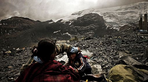 Vientos fuertes y nevadas afectan varias localidades de Puno