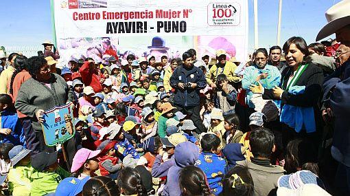 Afectados por la ola de frío en Puno recibirán 250 toneladas de alimentos