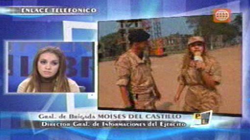 El Ejército reconoció que video del desnudo a Dorita Orbegozo violó su intimidad
