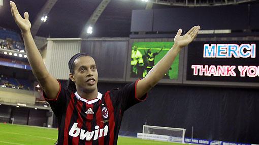 """Presidente del AC Milan: """"Ronaldinho se retirará en nuestro club"""""""
