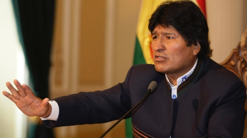 """Evo Morales se burló de periodistas y los llamó """"vuvuzelas de Sudáfrica"""""""