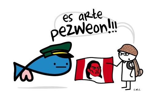 """El Pezweon tampoco """"entiende"""" al Túpac Amaru de Cherman"""