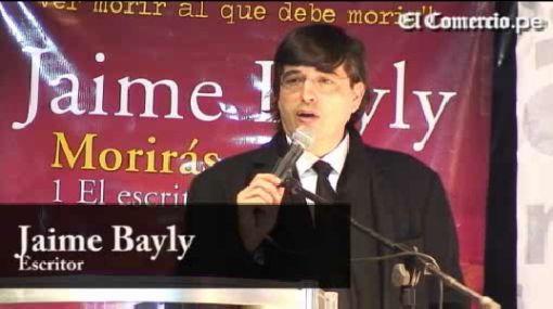 "Jaime Bayly presentó su libro ""Morirás mañana"" en la FIL Lima 2010"