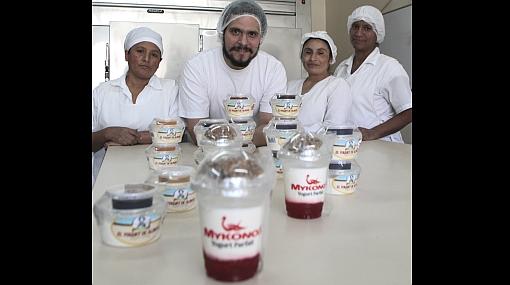Yogur griego: un sabor de tres generaciones
