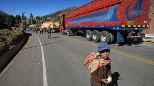 Cusco, Puno, Arequipa y Tacna protestan por exportación de gas de Camisea