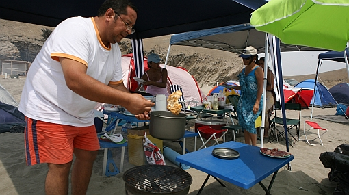 Comidas en campamentos: evite productos que se descompongan rápido