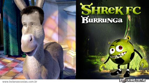 ¿Cómo se verían Ronaldinho y Ronaldo si fueran personajes de Shrek?