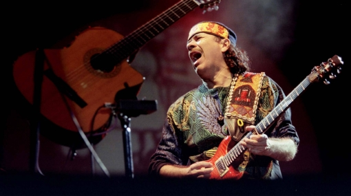 Carlos Santana lanzará disco con clásicos del rock