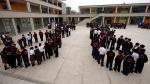 Ministerio de Educación amplió el horario de clases en dos colegios emblemáticos - Noticias de victor diaz chavez
