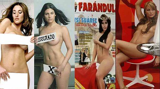 Bellas peruanas que sí lucieron sus cuerpos al desnudo