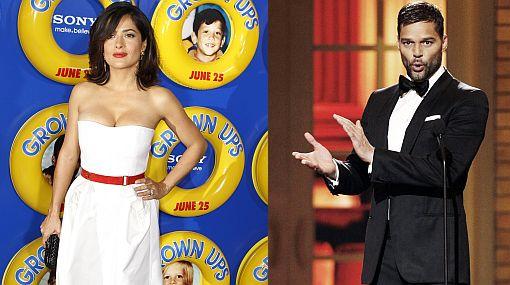 Ricky Martin y Salma Hayek, los mejor vestidos según la revista People