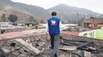Explosiones para perforar cerro originan malestar entre vecinos del Rímac - Noticias de patricia perez