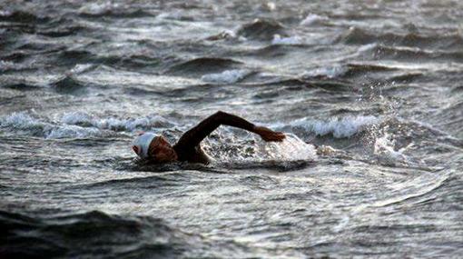FOTOS: dos nadadores peruanos vencieron al Estrecho de Gibraltar