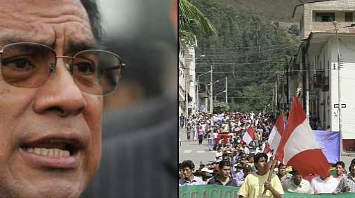 """Distrito en huelga en el Cusco """"es el más rico del Perú"""", afirmó el primer ministro"""