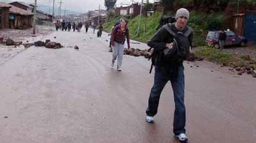 En Quillabamba no hay clases escolares, el transporte está restringido y los comercios cerrados