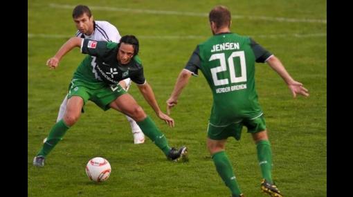 Los tres peruanos jugaron: Werder Bremen derrotó 2-0 al FK Rad de Belgrado