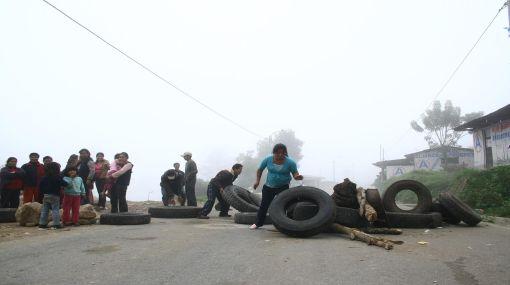 Huelguistas en Quillabamba aún esperan comunicado del Gobierno para iniciar el diálogo