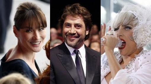 """Lady Gaga, Bruni y Bardem, entre los mejores vestidos según """"Vanity Fair"""""""