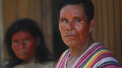 Nativos machiguenga marchan hacia Quillabamba para sumarse a huelga en contra de la exportación de gas