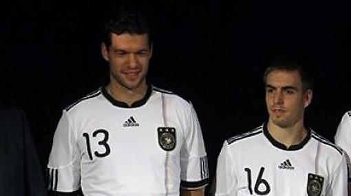 El adiós: Michael Ballack se retirará de la selección alemana tras la Eurocopa 2012