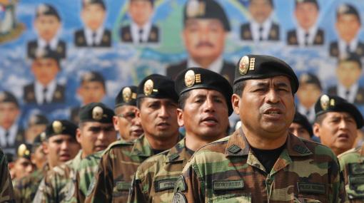 A 350 aumentó el número de agentes Dinoes que resguardan el distrito de Echarate, en Cusco