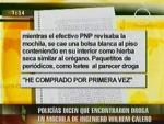 Policías investigados reiteran que Wilhem Calero tenía drogas y se autolesionó - Noticias de danilo fuertes benites