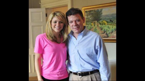 """Shakira ofreció su """"apoyo incondicional"""" al nuevo presidente de Colombia"""