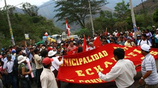 Pobladores de La Convención exigen dialogar con el primer ministro el martes en Quillabamba