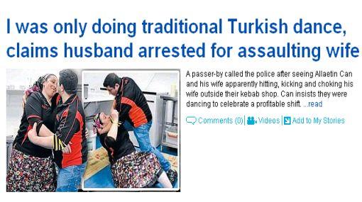 Acusan a hombre de golpear, patear y asfixiar a su esposa pero él dice que estaban bailando