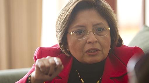 """Fabiola Morales: """"Que le pongan de nombre 'Luis Castañeda' a hospitales de la Solidaridad"""""""
