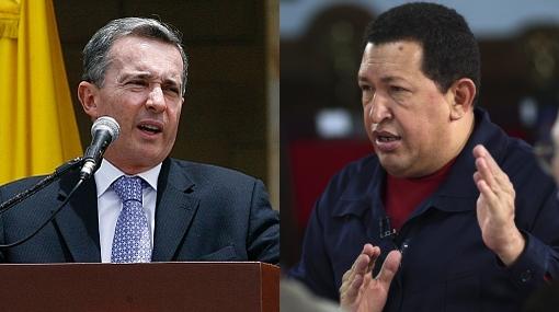 """Ex presidente Uribe llama """"cobarde"""" a Chávez por sus insultos a distancia"""