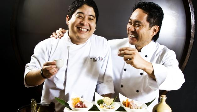 Chefs peruanos deleitan a comensales argentinos con su demostración de la cocina nikkéi