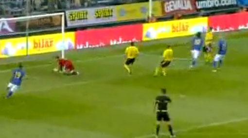 Zlatan Ibrahimovic anotó en su regreso a la selección de Suecia