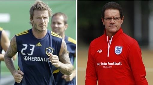 """David Beckham no aceptó """"jubilación"""" que le impuso Fabio Capello"""
