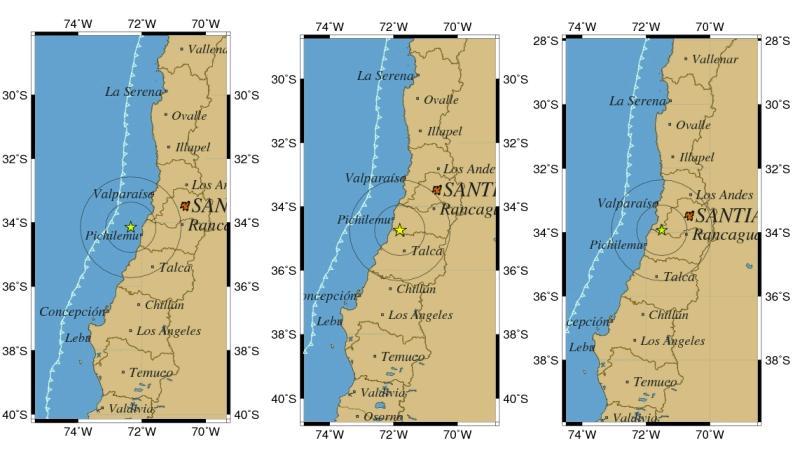 Tres nuevos sismos de entre 4,6 y 3,8 grados Richter se sintieron en Chile esta mañana