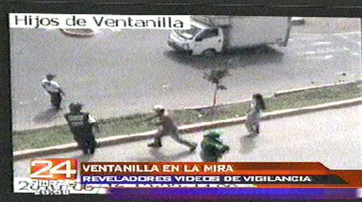 Vea reveladoras imágenes captadas por las cámaras de seguridad de Ventanilla