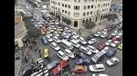 Caos vehicular es un infarto a diario en el corazón de Lima - Noticias de luis quispe candia