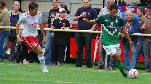 ¿Se queda?: Juan José Barros reapareció en la Sub 23 del Werder Bremen