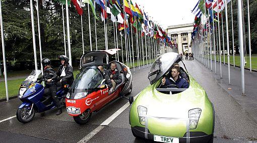 Una carrera de autos sin carbono en el aire: vehículos eléctricos viajarán alrededor del mundo