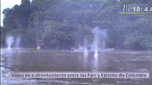 Ejército de Colombia difundió video de enfrentamiento con las FARC