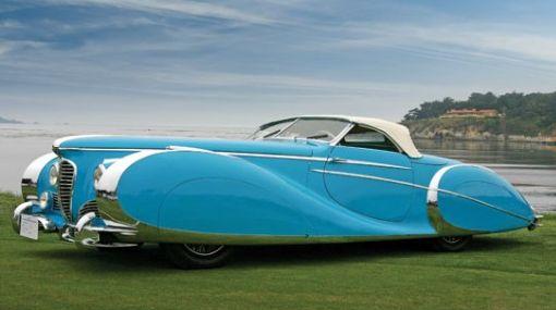 """Vendieron auto """"más bello del mundo"""" en tres millones de dólares"""