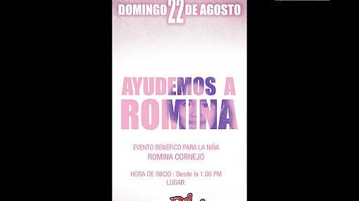 Solidarios: artistas se unen en ayuda de la pequeña Romina Cornejo
