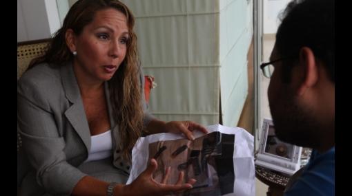 Giselle Giannotti busca que se le anule impedimento de salida del país en su contra