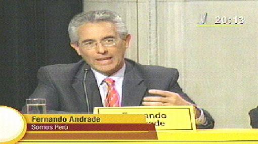 """Fernando Andrade promete transparencia en posible gestión: """"Esa es la forma de gobernar"""""""