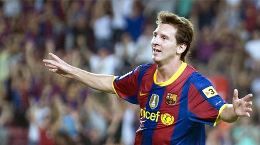 'Pulga' récord: Messi iguala a Rivaldo y Eto'o con 130 goles en el Barcelona